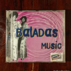CDs de Música: THE BEST OF TREX BALADAS - CD PROMOCIONAL DE ANTIGUOS CHICLES TREX - BALADAS MUSIC. Lote 132235714