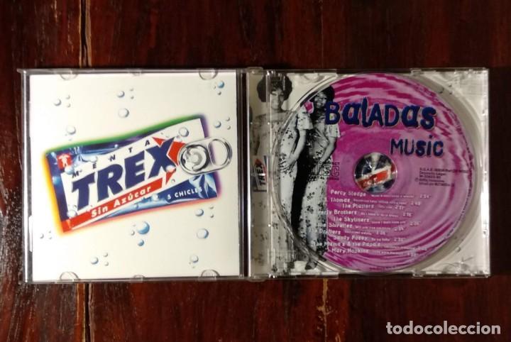 CDs de Música: THE BEST OF TREX BALADAS - CD PROMOCIONAL DE ANTIGUOS CHICLES TREX - BALADAS MUSIC - Foto 3 - 132235714