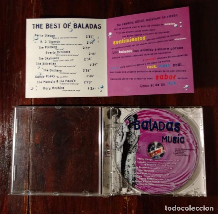 CDs de Música: THE BEST OF TREX BALADAS - CD PROMOCIONAL DE ANTIGUOS CHICLES TREX - BALADAS MUSIC - Foto 5 - 132235714
