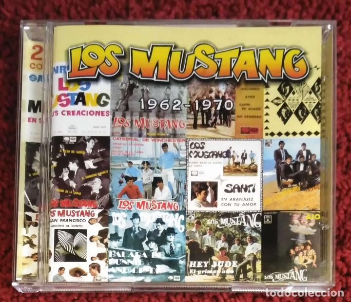 LOS MUSTANG (1962-1970) DOBLE CD 2000 (Música - CD's Pop)