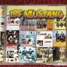 CDs de Música: LOS MUSTANG (1962-1970) DOBLE CD 2000. Lote 132236266