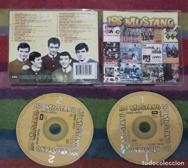 CDs de Música: LOS MUSTANG (1962-1970) DOBLE CD 2000 - Foto 3 - 132236266