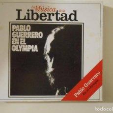 CDs de Música: PABLO GUERRERO EN EL OLYMPIA. COMPACTO CON 11 CANCIONES.. Lote 132243618