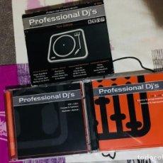 CDs de Música: PROFESSIONAL DJS IN SESSION NEW EDITION - VALE MUSIC (RARO). Lote 132246662