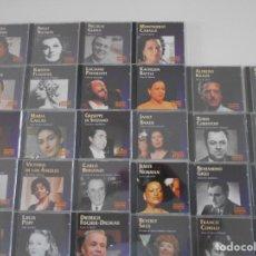 CDs de Música: GRANDES VOCES. OPERA. LOTE DE 28 COMPACTOS ORIGINALES. HORAS DE BUENA MUSICA DE OPERA. 2700 GRAMOS. . Lote 132264222