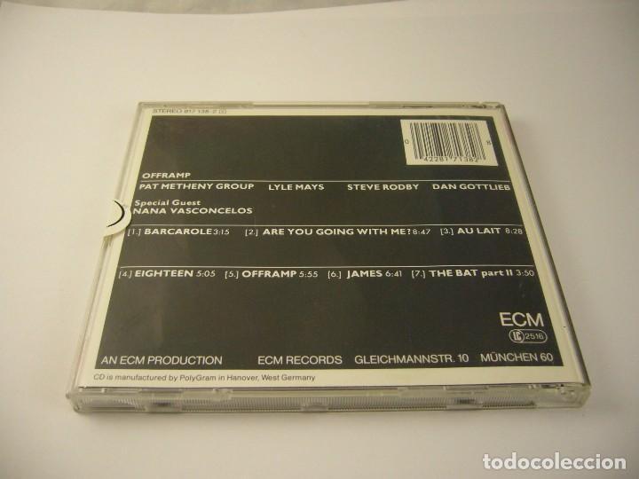 CDs de Música: PAT METHENY GROUP OFFRAMP TURN LEFT CD ED ALEMANA - Foto 2 - 132281538