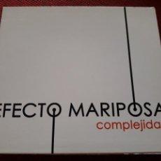 CDs de Música: EFECTO MARIPOSA CD+DVD COMPLEJIDAD JAVIER OJEDA + 5 € ENVIO C.N. Lote 132301705