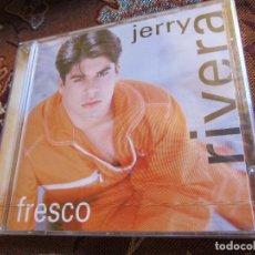 CDs de Música: JERRY RIVERA- CD- TITULO FRESCO-CON 10 TEMAS- ESTA PLASTIFICADO DE FCA. Y ES DEL 96. Lote 132318686