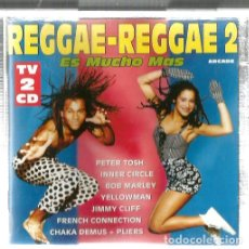 CDs de Música: DOBLE CD REGGAE 2 ( PETER TOSH, INNER CIRCLE, BOB MARLEY, YELLOWMAN, JIMMY CLIFF THE ITALS ETC . Lote 132325882