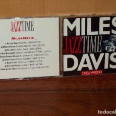 CDs de Música: MILES DAVIS - JAZZ TIME -CD . Lote 132325990