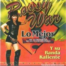 CDs de Música: CD ROSSY WAR Y SU BANDA CALIENTE : LO MEJOR DE LA RONQUITA DE LA TECHNOCUMBIA . Lote 132326258