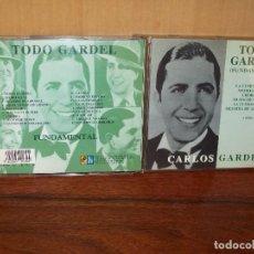 CDs de Música: CARLOS GARDEL - FUNDAMENTAL - TODO GARDEL - CD 18 CANCIONES . Lote 132326794
