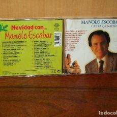 CDs de Música: MANOLO ESCOBAR - CANTA LA NAVIDAD - CD . Lote 132367582