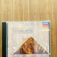 CDs de Música: MOZART, CD MASONIC MUSIC (MUSICA MASONICA), I. KERTESZ DECCA. Lote 132376510