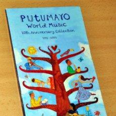 CDs de Música: ESTUCHE 2 CD + LIBRETO: PUTUMAYO - WORLD MUSIC 1993/2003 - CD 24 TRACKS - PUTUMAYO - AÑO 2003. Lote 132381114