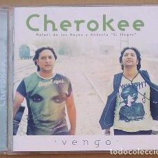 CDs de Música: CHEROKEE - VENGO (CD) 2012 - 11 TEMAS - FIRMADO. Lote 132401374