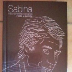 CDs de Música: LIBRO-CD JOAQUÍN SABINA. FÍSICA Y QUÍMICA. COLECCIÓN EL PAÍS.. Lote 132437778