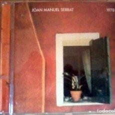 CDs de Música: JOAN MANUEL SERRAT 1978 - CD COMO NUEVO.. Lote 132437858