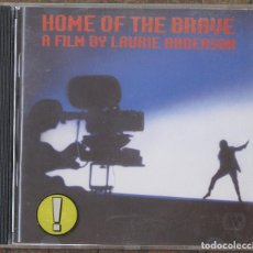 CDs de Música: HOME OF THE BRAVE. A FILM BY LAURIE ANDERSON.. Lote 132465758