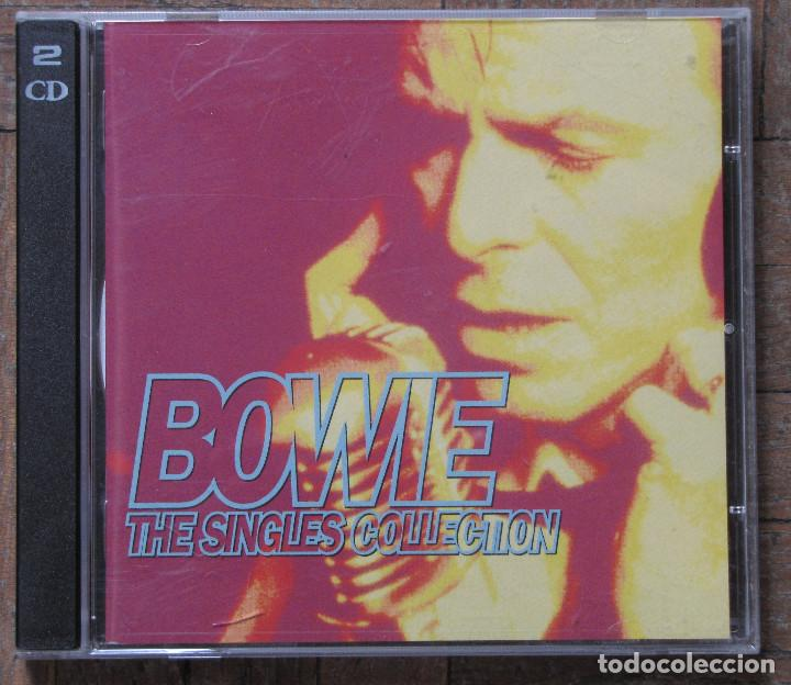 BOWIE. THE SINGLES COLLECTION. 2 CDS. (Música - CD's Rock)