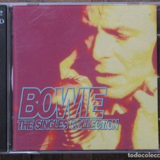 CDs de Música: BOWIE. THE SINGLES COLLECTION. 2 CDS.. Lote 132467398