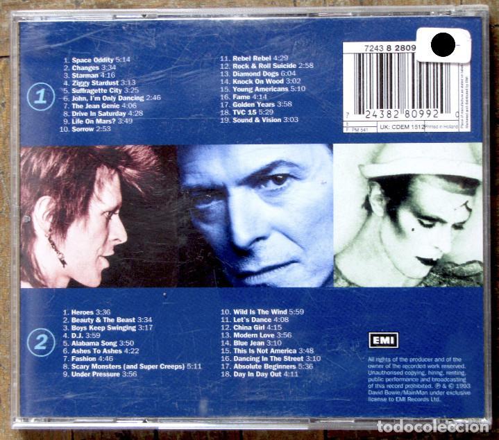 CDs de Música: Bowie. The singles collection. 2 CDs. - Foto 2 - 132467398