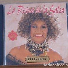 CDs de Música: CELIA CRUZ - LA REINA DE LA SALSA (CD) 1991 - 16 TEMAS - MANZANA. Lote 132491742