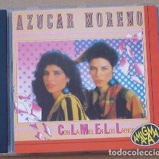 CDs de Música: AZUCAR MORENO - CON LA MIEL EN LOS LABIOS (CD) 1994 - 8 TEMAS. Lote 132496730