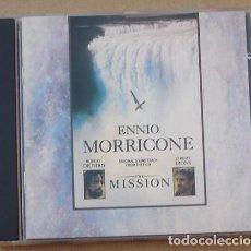 CDs de Música: THE MISSION - B.S.O. ENNIO MORRICONE (CD) 1986 - 20 TEMAS. Lote 132497754