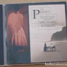 CDs de Música: THE PIANO - B.S.O. MICHAEL NYMAN (CD) 1993 - 20 TEMAS. Lote 132498178