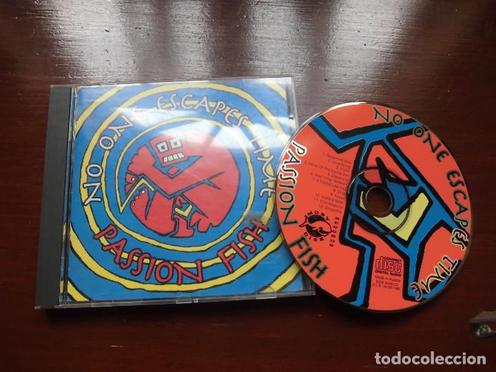 PASSION FISH- NO ONE ESCAPES TIME (Música - CD's Rock)