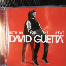 CDs de Música: DAVID GUETA-NOTING BUT THE BEAT-2011-DOBLE CD-LIBRETO GORDO. Lote 132542583