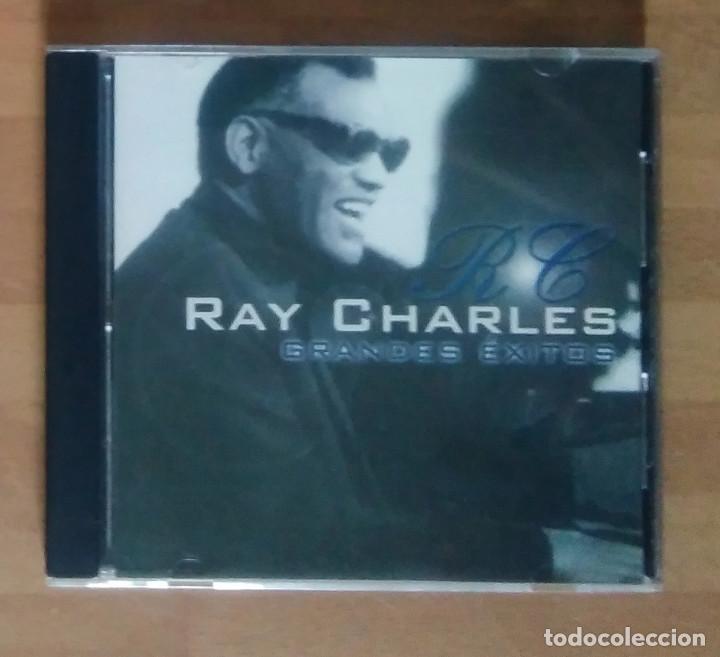 RAY CHARLES - GRANDES ÉXITOS (2000) (Música - CD's Jazz, Blues, Soul y Gospel)