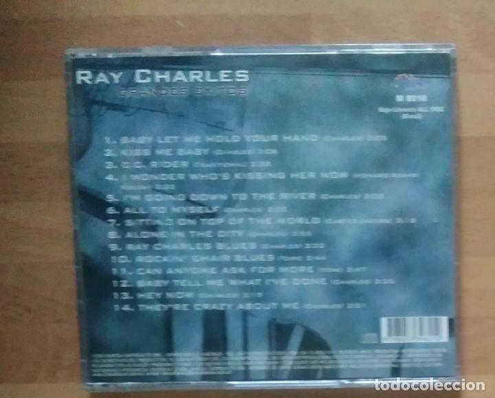CDs de Música: RAY CHARLES - GRANDES ÉXITOS (2000) - Foto 2 - 132548746