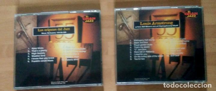 CDs de Música: LOTE EL GRAN JAZZ (LOS ORÍGENES DEL JAZZ + REGALO LOUIS ARMSTRONG) - ED DEL PRADO 1995 - Foto 3 - 132550706