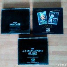 CDs de Música: NINA SIMONE + MARLENE DIETRICH + RITA HAYWORTH + THE A-Z ENCYCLOPEDIA OF JAZZ (THE GOLD COLLECTION). Lote 132569190