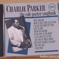 CDs de Música: CHARLIE PARKER - THE COLE PORTER SONGBOOK (CD) 1991 - 12 TEMAS. Lote 132589938