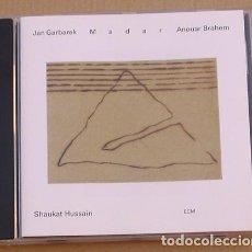 CDs de Música: JAN GARBAREK - MADAR (CD) 1994 - 9 TEMAS - ANOUAR BRAHEM, SHAUKAT HUSSAIN - ECM GERMANY. Lote 132590494