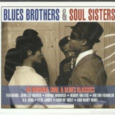 CDs de Música: VV.AA. - BLUES BROTHERS & SOUL SISTERS - CD NOT NOW 2013 NUEVO. Lote 132593434