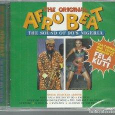 CDs de Música: VV.AA. - THE ORIGINAL AFROBEAT - THE SOUND OF 90'S NIGERIA - CD ALADDIN 1999 NUEVO. Lote 132596190