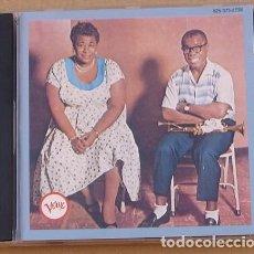 CDs de Música: ELLA FITZGERALD & LOUIS ARMSTRONG - ELLA AND LOUIS (CD) 11 TEMAS- GERMANY. Lote 132598726