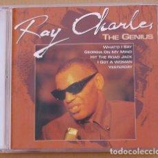 CDs de Música: RAY CHARLES - THE GENIUS (2 CD) 1993 - 26 TEMAS - ARCADE. Lote 132601014