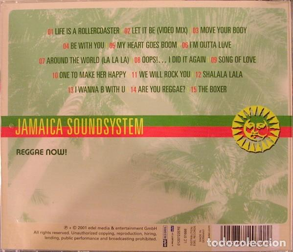 CDs de Música: Jamaica Soundsystem – Reggae Now! (Germany, 2001) - Foto 2 - 132607550