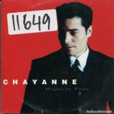 CDs de Música: CHAYANNE / DEJARIA TODO (CD SINGLE CARTON PROMO 1998). Lote 132622078