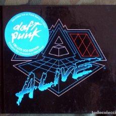 CDs de Música: DAFT PUNK – ALIVE 2007 CD LIMITED EDITION, DIGIBOOK 2007 . Lote 132623810