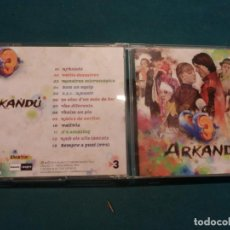 CDs de Música: ARKANDU - CLUB SUPER 3 - TV3 - CD 13 TEMAS - BLANCO Y NEGRO 2015. Lote 132630090
