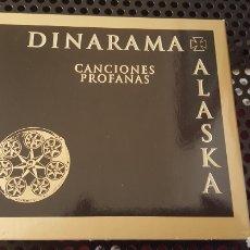 CDs de Música: CD - ALASKA Y DINARAMA - CANCIONES PROFANAS - DOBLE CD - DIGIPACK Y LIBRETO 20 PAGS. Lote 132650437