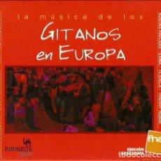 CDs de Música: CD LIBRO LA MUSICA DE LOS GITANOS EN EUROPA . Lote 132674070