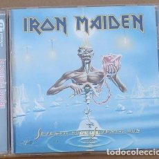 CDs de Música: IRON MAIDEN -SEVENTH OF A SEVENTH SON (CD) 1998 - 8 TEMAS. Lote 132705102