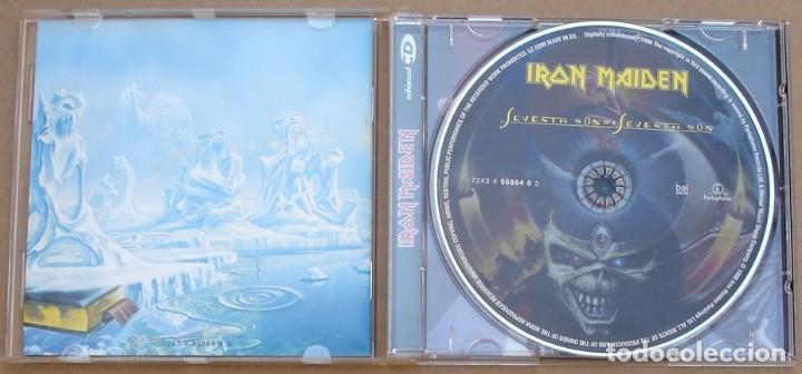 CDs de Música: IRON MAIDEN -SEVENTH OF A SEVENTH SON (CD) 1998 - 8 TEMAS - Foto 2 - 132705102